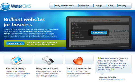 water-cms-fresh-corporate-web-design-inspiration