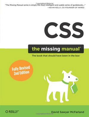 css-missing-manual-books-web-development-books