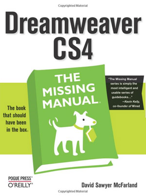 dreamweaver-cs4-missing-manual-books-web-development-books