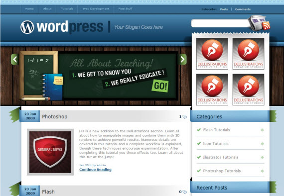 blues-vintage-free-premium-wordpress-theme
