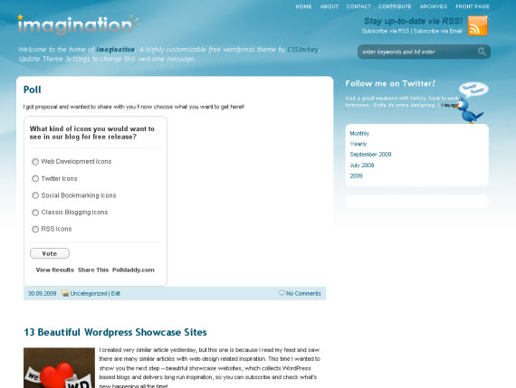 imagination-free-premium-wordpress-theme