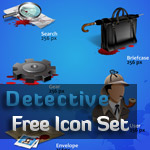 IconShock Free Icon Set and 1st Freebie in Year 2010!