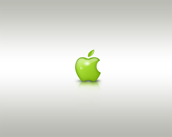 apple-inspired-photoshop-tutorials/green-style-design-apple-related-photoshop-tutorials