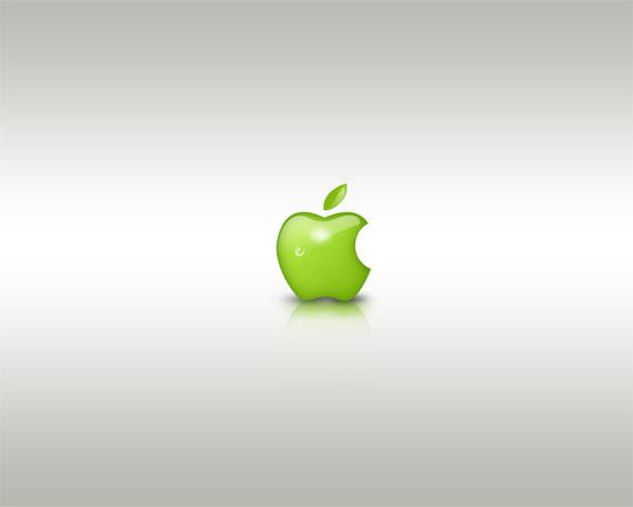 apple-inspired-photoshop-tutorials/green-style-design-apple-related-photoshop-tutorials