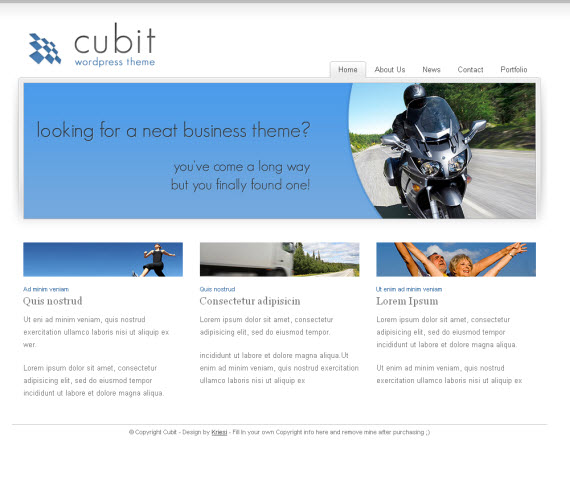 Cubit-commercial-wordpress-portfolio-showcase-theme