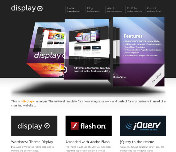 Display-commercial-wordpress-portfolio-showcase-theme