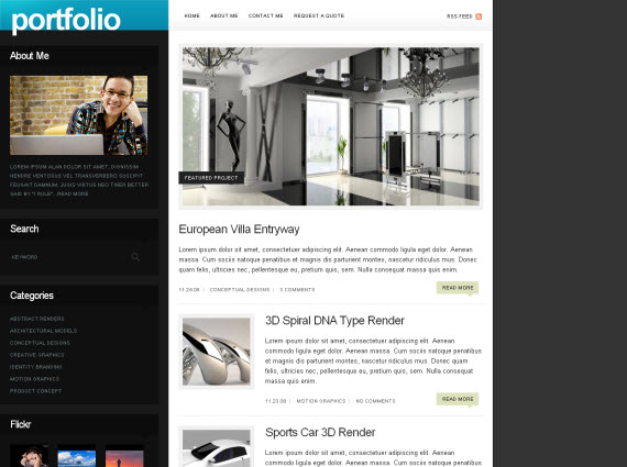Folio-commercial-wordpress-portfolio-showcase-theme