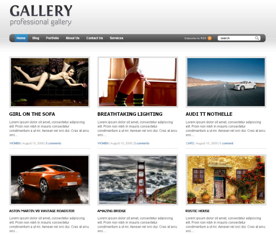 Gallery-wordpress-portfolio-showcase-theme