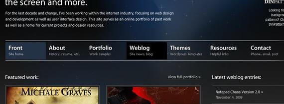 Evan-eckard-css-navigation-inspiring-webdesign