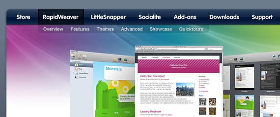 Mac-software-css-navigation-inspiring-webdesign