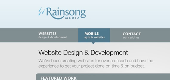Rainsong-media-css-navigation-inspiring-webdesign