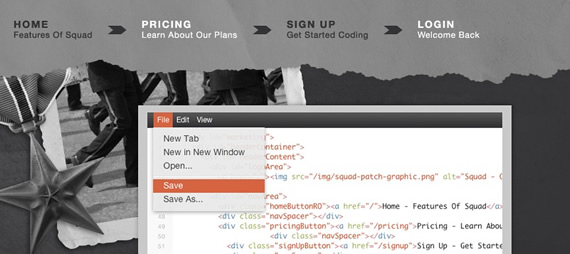 Squaredit-css-navigation-inspiring-webdesign
