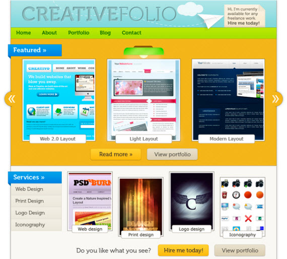 Portfolio-tut-design-instruct-photoshop-tutorials-site
