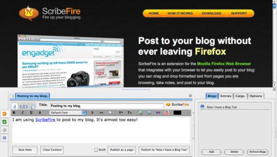 scibefire-desktop-blogging-editor-client