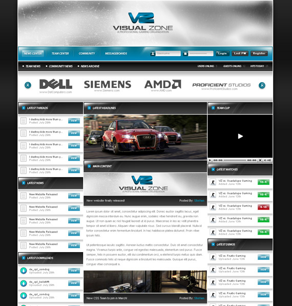 Gaming-sale-talk-web-design-interface-inspiration-deviantart