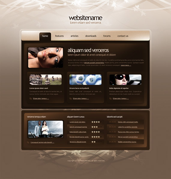 Template-web-design-interface-inspiration-deviantart
