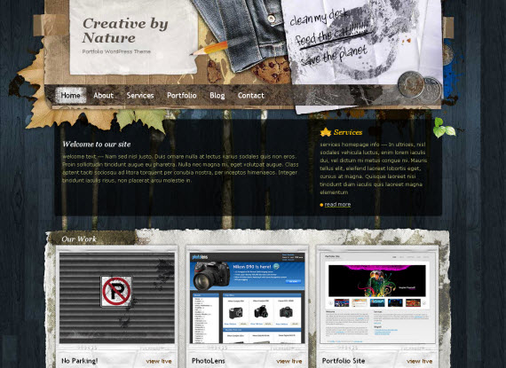 Creative-by-nature-free-portfolio-wordpress-themes