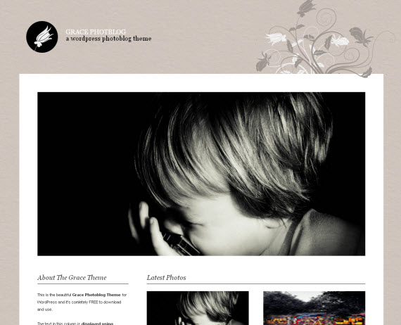 Grace-photoblog-free-portfolio-wordpress-themes