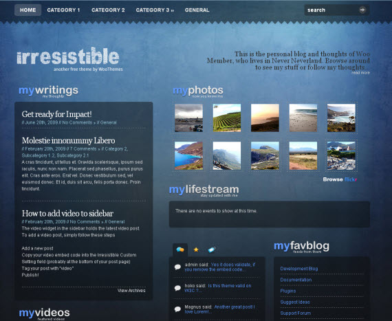 Irresistable-free-portfolio-wordpress-themes