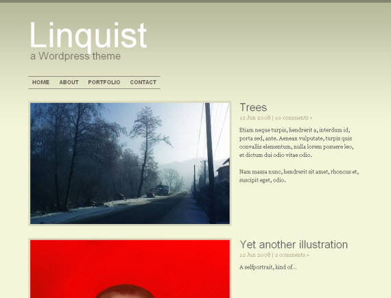 Linquist-free-portfolio-wordpress-themes