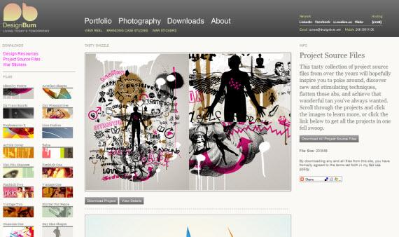 design-bum-photoshop-psd-resource-sites