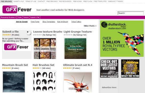gfx-fever-photoshop-psd-resource-sites