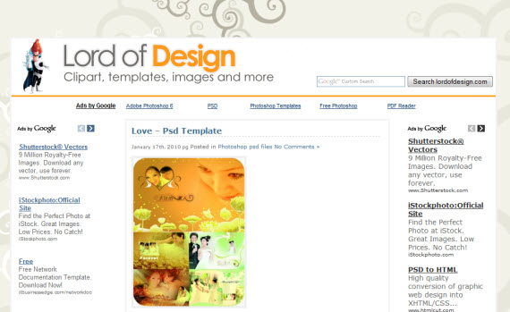 lord-of-design-photoshop-psd-resource-sites