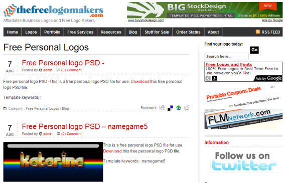 the-free-logo-makers-photoshop-psd-resource-sites