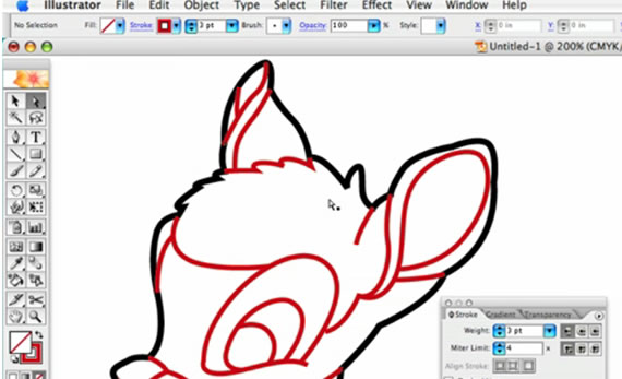 How To Smooth Drawing Lines In Illustrator : Useful adobe illustrator video tutorials for creative