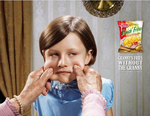 Granny-fries--most-interesting-and-creative-ads
