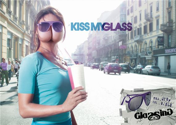 Kiss-glass-most-interesting-and-creative-ads