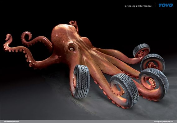 Toyo-octopus-most-interesting-and-creative-ads