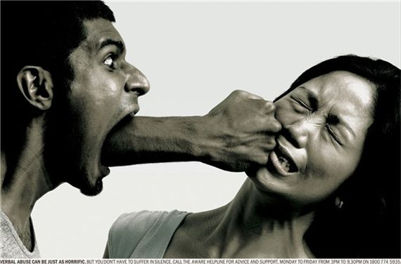 Verbal-abuse--most-interesting-and-creative-ads