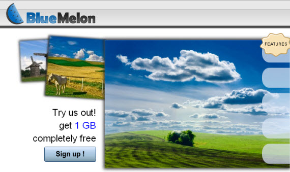 bluemelon-photo-sharing-site