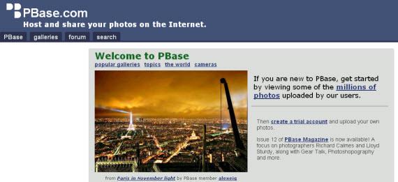 pbase-photo-sharing-site