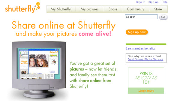 shutterfly-photo-sharing-site