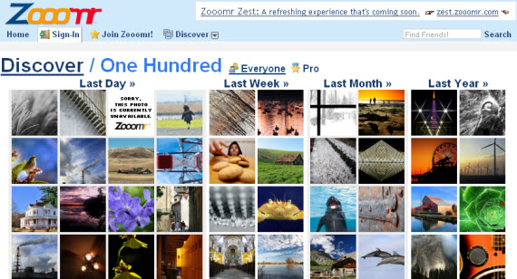 zoomr-photo-sharing-site