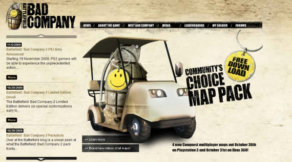 battlefield-bad-company-showcase-of-best-inspiring-gaming-websites