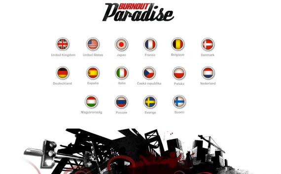 burnout-paradise-showcase-of-best-inspiring-gaming-websites
