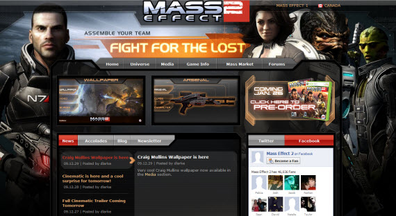 mass-effect-2-showcase-of-best-inspiring-gaming-websites