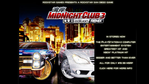 midnight-club-3-showcase-of-best-inspiring-gaming-websites