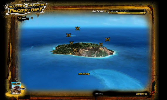 motorstorm-pacific-rift-showcase-of-best-inspiring-gaming-websites