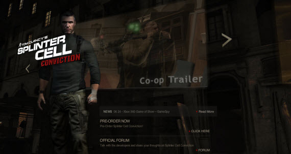 tom-clancy-splinter-cell-conviction-showcase-of-best-inspiring-gaming-websites