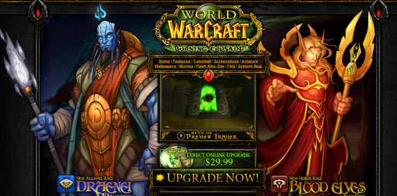world-of-warcraft-burning-crusade-showcase-of-best-inspiring-gaming-websites