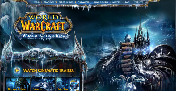 world-of-warcraft-wrath-of-the-lich-king-showcase-of-best-inspiring-gaming-websites