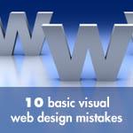 10 Basic Visual Web Design Mistakes