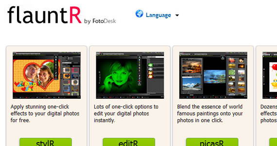 Flauntr-fun-online-photo-editing-websites