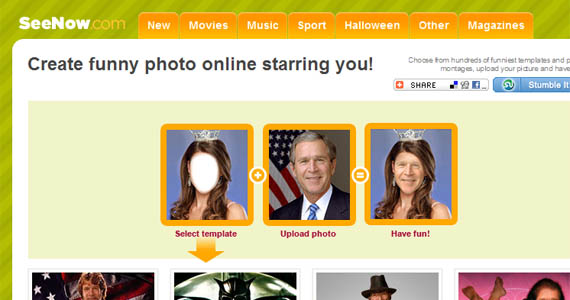 Seenow-fun-online-photo-editing-websites