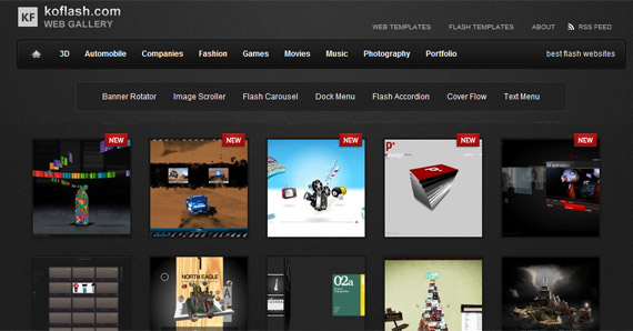 Koflash-inspiration-awesome-flash-website