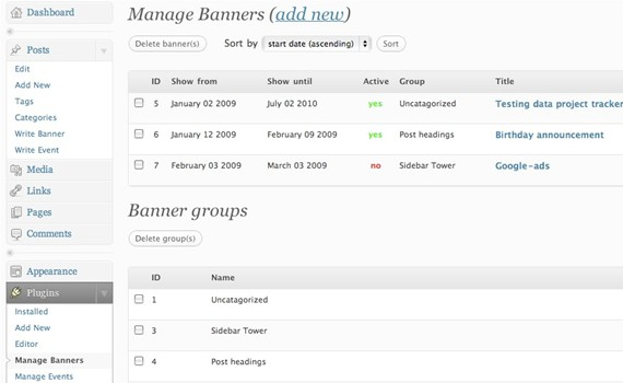 ad-rotator-admin-plugins-for-wordpress ওয়ার্ডপেস এডমিনের জন্য ৩০টি শক্তিশালি প্লাগইন্স